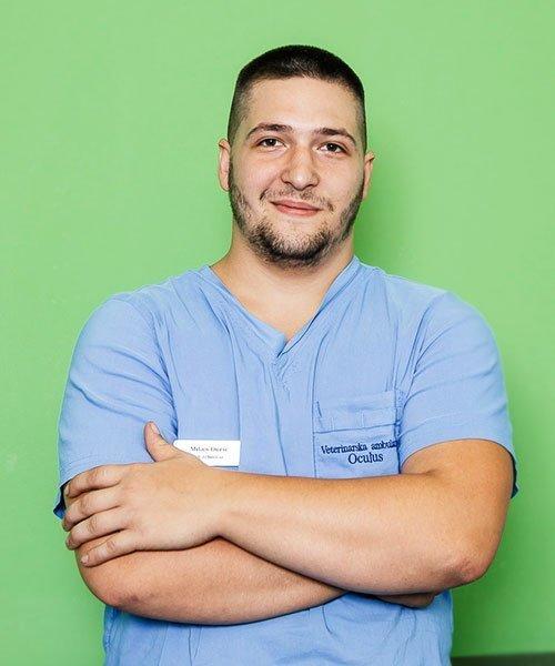 Milan Đurić veterinarski tehničar